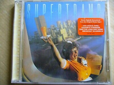 New & Sealed: Supertramp - Breakfast In America REMASTERED CD Classic 1979 Album