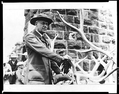 Stephen Tyng Mather,1867-1930,American industrialist,conservationist,antlers