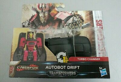 Transformers The Last Knight Autobot Drift Action Figure New