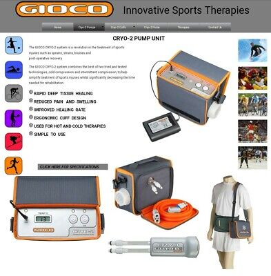Gioco cryo-2 Hot/cold Theroepy System like to GRPRO 2.1 GAME READY last chance!