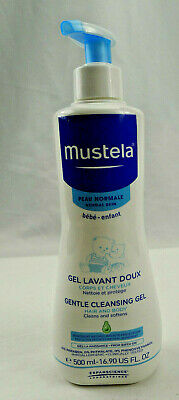 Mustela Gentle Cleansing Gel Hair Body Baby Infant 16.9oz Normal Skin 8/2020