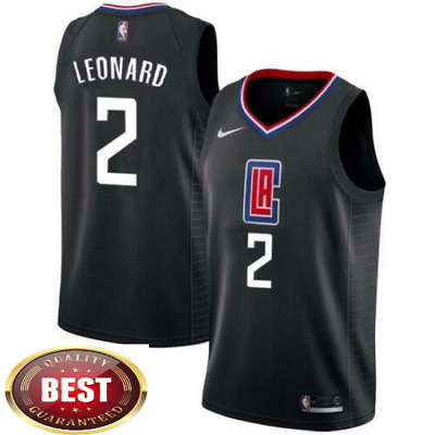 Kawhi Leonard Men's Los Angeles Clippers Basketball Jersey Embroidered