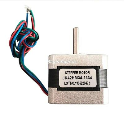 NEMA17 0.9° Degree 2-Phase 4-Wire 34mm Bipolar Stepper Motor For 3D Printer