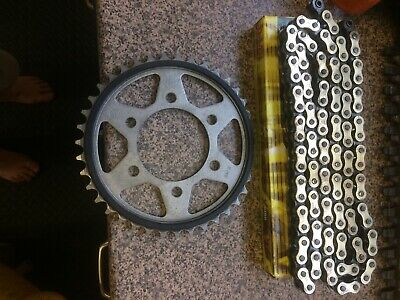 DID Upgrade Chain And Sprocket Kit Suit Kawasaki ZX6R 2002