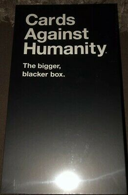 Cards Against Humanity: The Bigger Blacker Box Party Card Game Dark Humour New