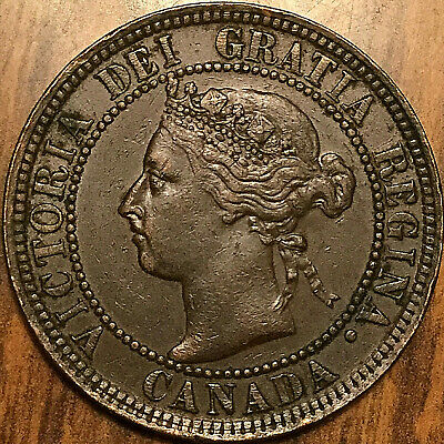 1900H CANADA LARGE CENT 1 CENT PENNY - Superb example!