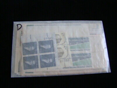 """$50.00 Face Value All Mint Usable Postage Lot Singles,Blocks """"Free Shipping"""" d"""