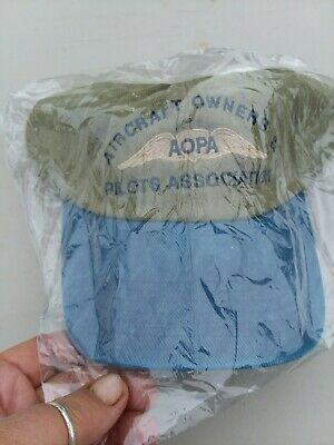 AOPA (Aircraft Owners Pilots Association) Ball cap - New In Package