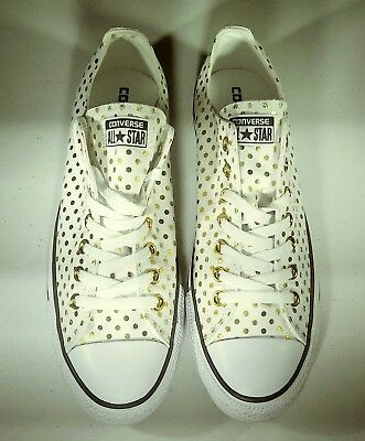 CONVERSE ALL STAR CHUCK TAYLOR OX Style 156601F, NEW, US size Men 10 Woman 12