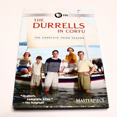 The Durrells in Corfu: The Complete Third Season (DVD, 2018, Unrated Version)