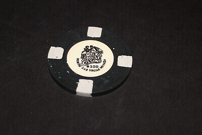 Opera House $100 Casino Chip Mint Rated O Bv 4150-$174