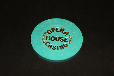 Opera House $25 Casino Chip Las Vegas Mint Rated F