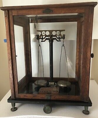 ANTIQUE SARTORIUS-WERKE GOTTINGEN ANALYTICAL BALANCE SCALE Pharmacy