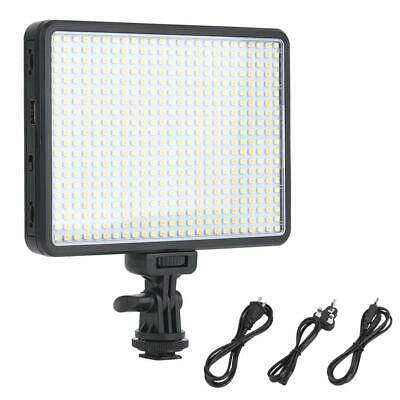 VBESTLIFE PAD360 Video LED Light Stepless Dimmable with NP-F550 Battery Charger