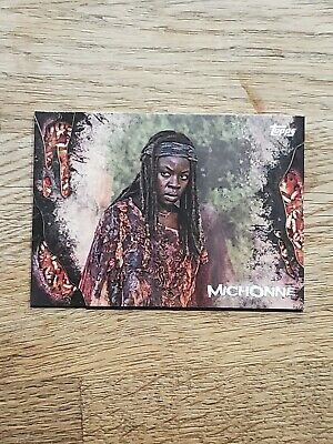 2016 Topps The Walking Dead Survival Box maggots /10 #4 Michonne Card