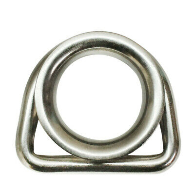 "316 Stainless Steel Marine Boat 5/16"" D Ring Thimble Round Shave Wire Rope"