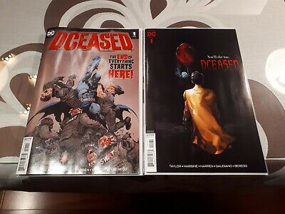 DCeased #1 Cover A Yasmin Putri Horror Movie Variant Deceased 1st Print DC Comic