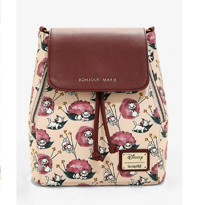 Loungefly Disney The Aristocats Marie Convertible Mini Backpack