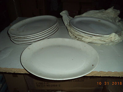 Restaurant White Plates, Platters & Dishes - Various commercial brands, job lot