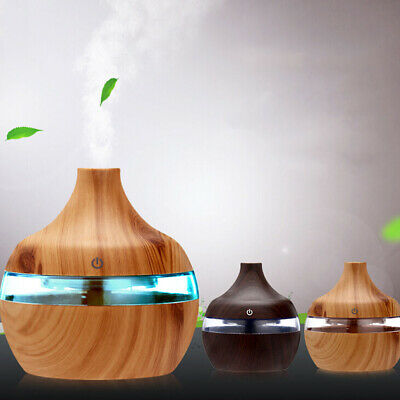 300ml Essential Oil Aroma Diffuser Ultrasonic Humidifier Aromatherapy Purifier.