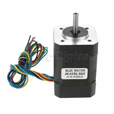 JK42BLS02 Brushless DC Motor 52.5W 10.6A 24V 3Phase 4000RPM 61mm L BLDC Motor