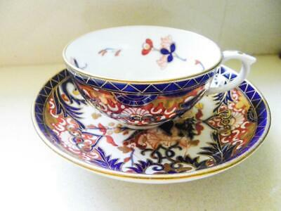 Antique Bloor Royal Crown Derby C.1825 - Imari Pattern Hand Painted Cup & Saucer