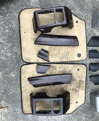 RANGE ROVER L322  Vogue Interior Front And Rear Door Card Trims Wood Walnut