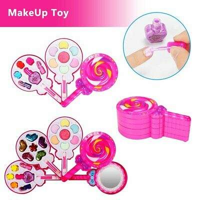 Make Up Toy Pretend Play Toys Set Deluxe Princess Girl's Makeup Cosmetic Kits RK