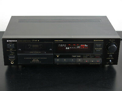 PIONEER CT-449 Stereo Cassette Deck