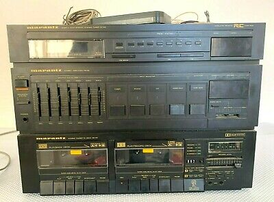 Vintage Marantz Model TAD-52 Quartz Synthesized Stereo Tuner Cassette Deck Dolby