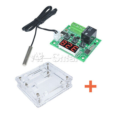 W1209 DC12V Thermostat Control Switch Regulator Temperature Controller +Case