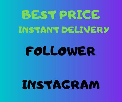 1000 Follower Instagram - No Password - Instant Delivery - Best Quality