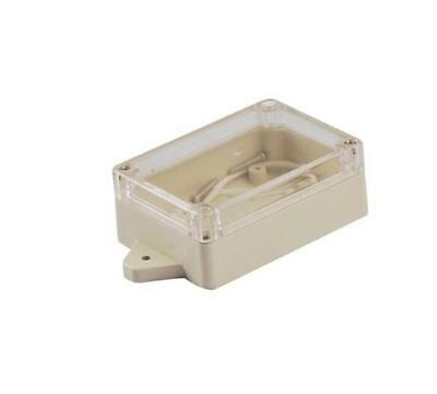 Waterproof Plastic Electronic Project Box Clear Cover Enclosure Case 85*58*33MRD