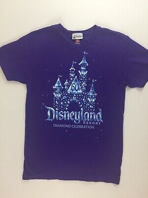 Disney Parks Disneyland 60th Diamond Anniversary Tee T-shirt Shirt Size Small