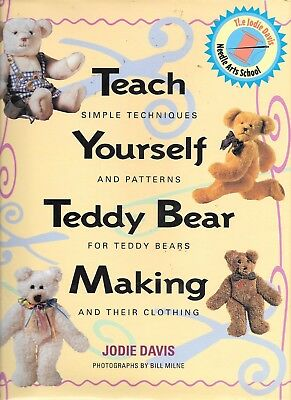 Teach yourself teddy bear making techniques patterns HB book clothing fashion
