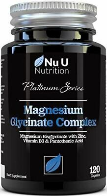 Magnesium Glycinate Complex with Vitamin B6, Zinc & Pantothenic Acid
