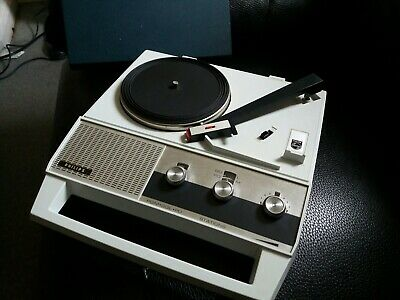 Philips Vintage Portable Record Player Radio RARE