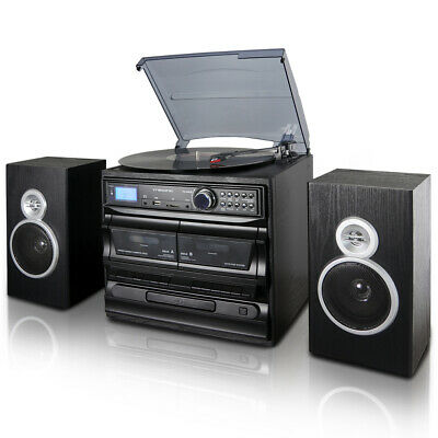 RECORD PLAYER, MIRIC Turntable Bluetooth for Vinyl Record 3