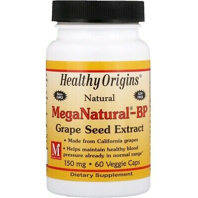 MegaNatural Grape Seed Extract, 150mg x60caps IBS ( Irritable Bowel Syndrome )