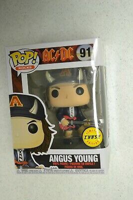 Funko POP Rocks AC/DC Angus Young #91 Chase Limited Edition
