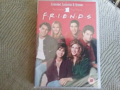 the complete first season friends dvd new freepost