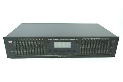 BSR EQ-3000 10-band Stereo Frequency Equalizer Spectrum Analyzer