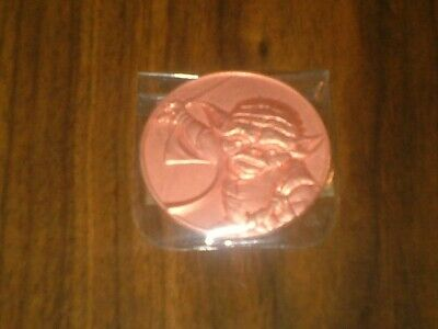 2005 California Lottery Star Wars Commemorative Rare Lotto Coin Yoda New
