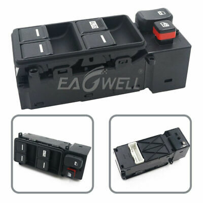 Master Window Switch 35750-SDA-H12 For 4 Door Honda Accord Driver Side 2003-2007