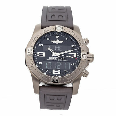 Breitling Exospace B55 Connected Titanium Quartz 46mm Mens Watch EB5510H1/BE79