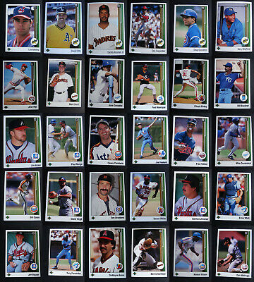 1989 Upper Deck Baseball Cards Complete Your Set Pick From List 1-200
