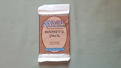 Magic The Gathering  MTG Revised Edition Booster Pack FACTORY SEALED *RARE*