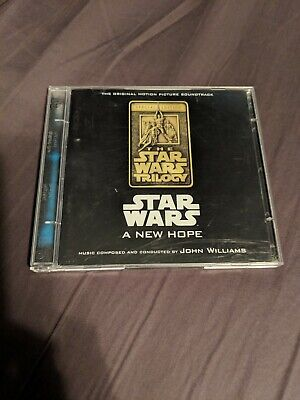 Star Wars A New Hope Special Edition 2 Disc CD Soundtrack John Williams