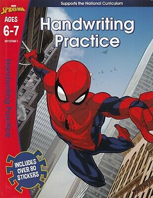 Spider-Man: Handwriting Practice, Ages 6-7 Key Stage 1 Learning Activity Book