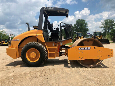 "2012 Case SV208 Smooth Drum Vibratory Articulated Roller Cummins 66"" Compactor"